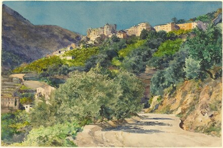 Sun-Drenched Hills near Menton