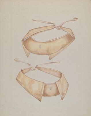 Man's Linen Collar