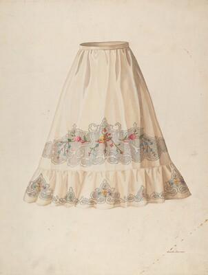 Skirt from Wedding Dress
