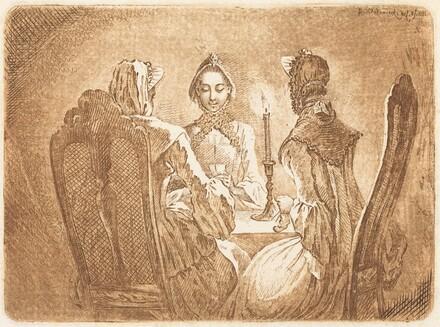 The Card Game (Der kleine l'Hombre Tisch)