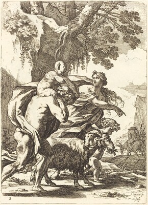 Faun and Bacchante with a Child