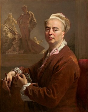 Nicolas de Largillierre, Self-Portrait, 1707