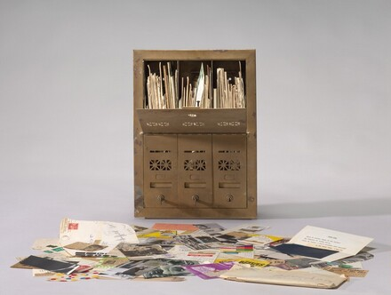 Ray Johnson, Untitled (Letterbox), 19641964