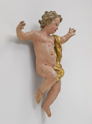 Jubilant Putto (possibly The Infant Christ)