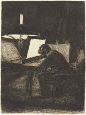 The Printmaker (Le Graveur)