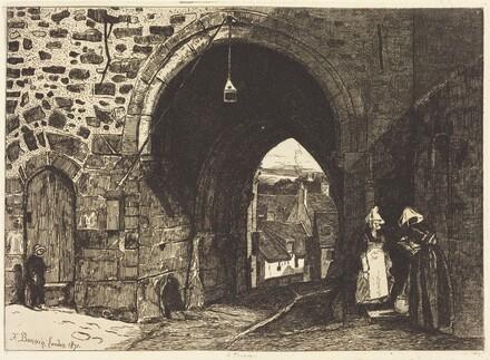 La Porte de St Malo à Dinan