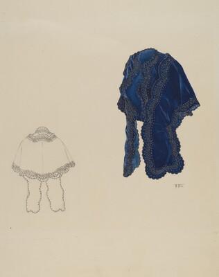 Blue Velvet Dolman
