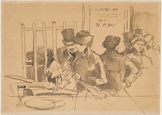 Edouard Manet, The Railway Restaurant, c. 1879