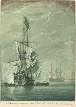 Shipping Scene from the Collection of Thomas Cook