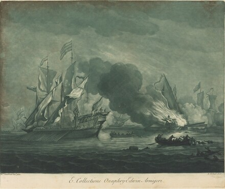 Shipping Scene from the Collection of Onuphrij Edwin