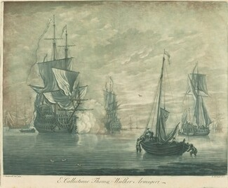 Shipping Scene from the Collection of Thomas Walker