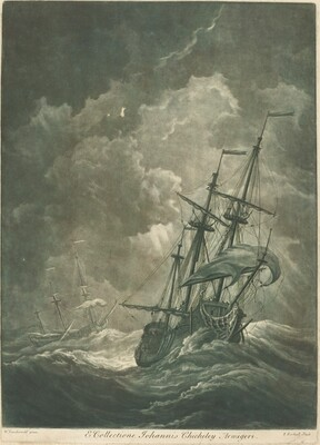 Shipping Scene from the Collection of John Chicheley