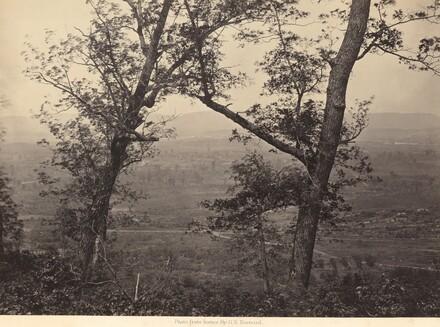 Orchard Knob from Mission Ridge