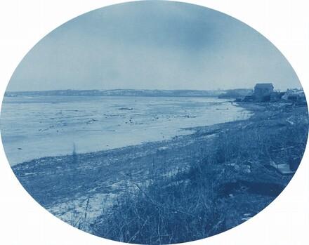 Levee at Rapids City, Illinois