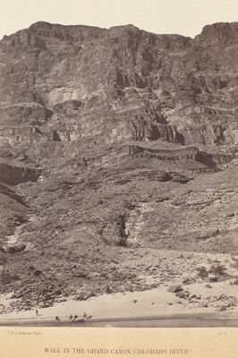 Wall in the Grand Canyon, Colorado River