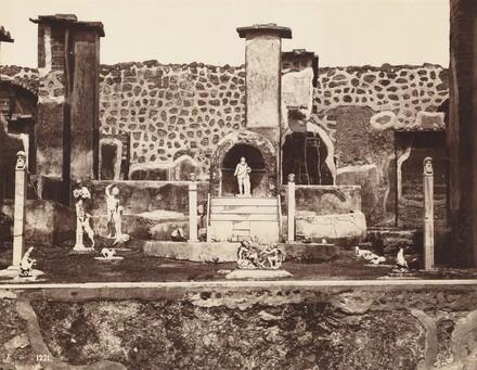 View of Pompeii, Casa di Marco Lucrezio