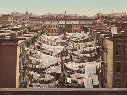 A Monday Washing, New York City