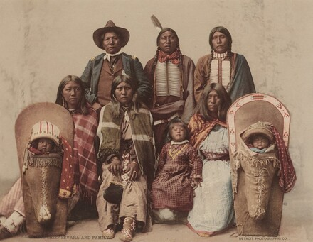 Ute Chief Sevara and Family