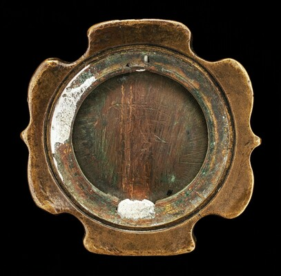 Sword Pommel with inset plaquette of Ariadne [affixed reverse of pommel]