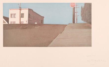Potrero Intersection-Blue Sky