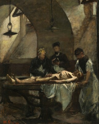 Study for Autopsy at the Hôtel-Dieu
