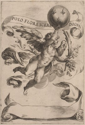 Genius with the Medici Coat-of-Arms