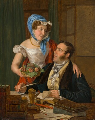 The Cartographer Professor Josef Jüttner and His Wife