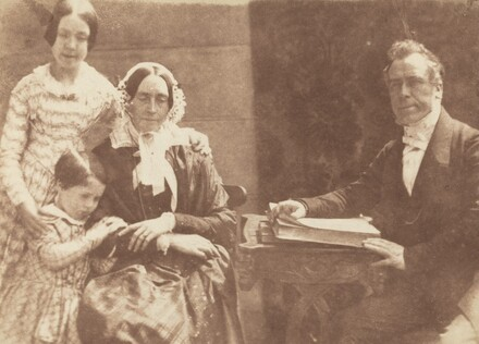 Rev Ebenezer Miller and family