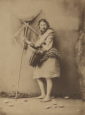 A Shrimp Fisher Girl