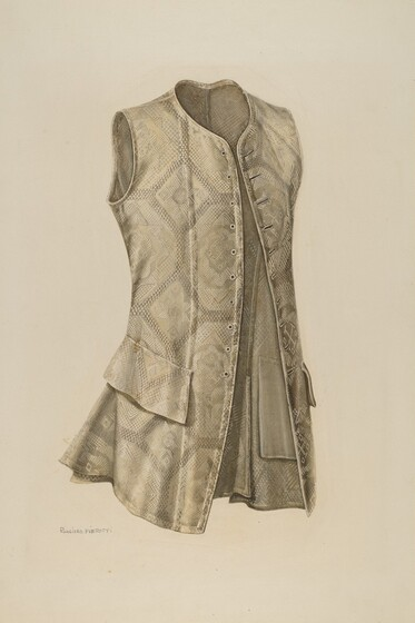 ebf488d1c2 A man s suit in the eighteenth century consisted of a coat