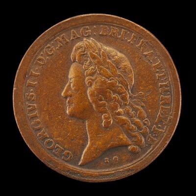 George II, 1683-1760, King of Great Britian 1727 [obverse]