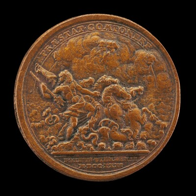 Neptune Contending with Four Winds [reverse]