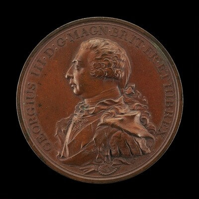 George III, 1738-1820, King of Great Britain 1760 [obverse]