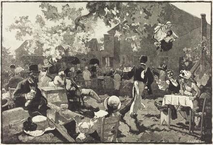 Le Cabaret du Coq de Bruyère au Bois de Meudon