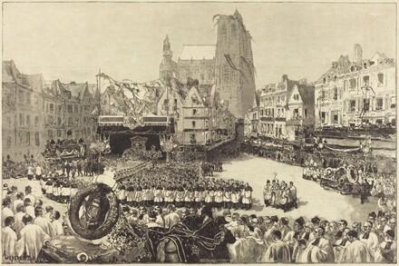 Les Funérailles de L'Amiral Courbet