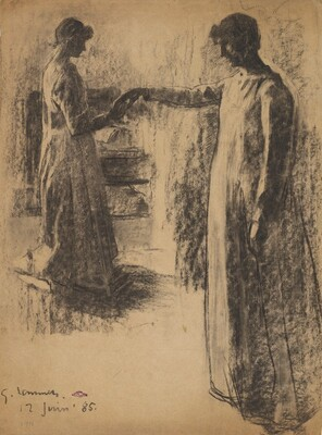 Two Studies of Madame Lemmen