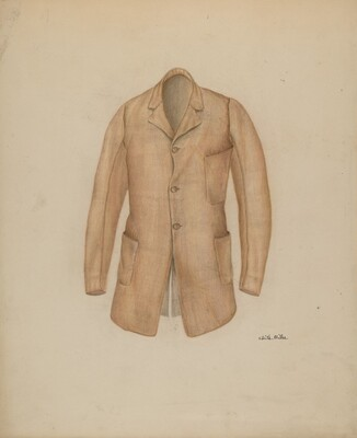 Man's Sack Coat