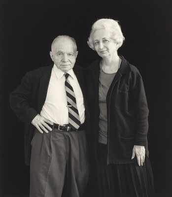 Untitled (Portrait of Dorothy and Herb)