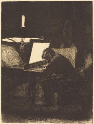 Printmaker (Le Graveur)