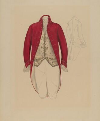 Man's Coat and Waistcoat