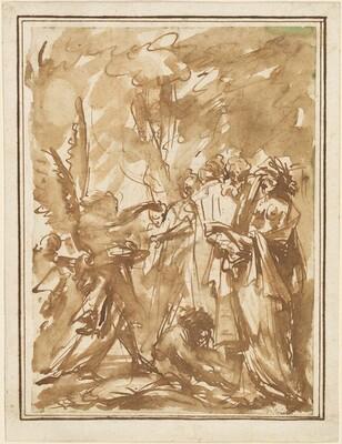 Scherzo with Antique Figures