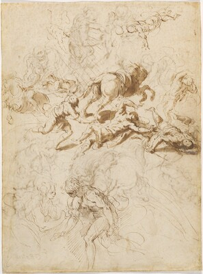 The Conversion of Saint Paul; Adam and Eve