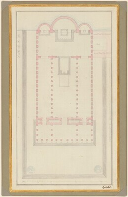 Ground Plan of a Cathedral for Berlin