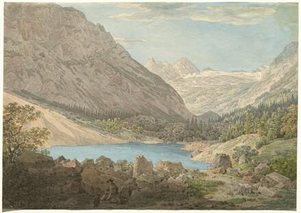 The Blue Pool in the Rein Valley near Garmisch