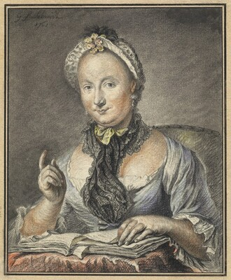 The Artist's Wife with a Book