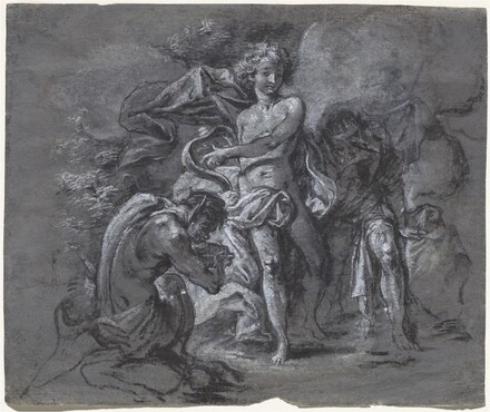 The Contest between Apollo and Pan before King Midas
