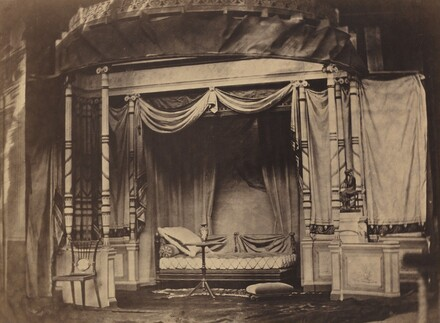 Bedroom display in the Paris Universal Exposition of 1855
