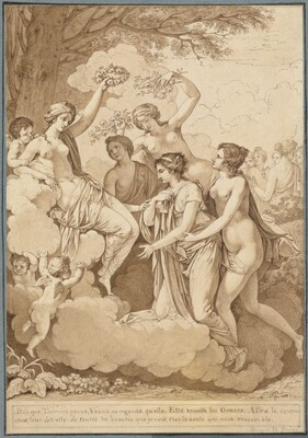 Venus and the Graces Crowning Thémire