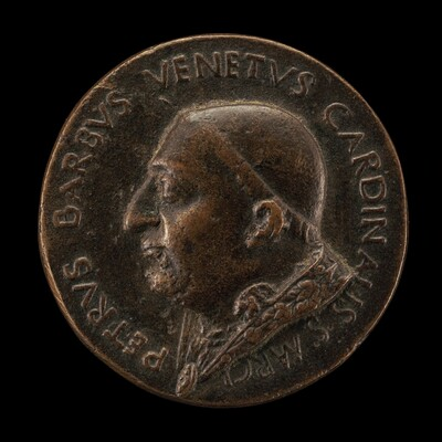 Pietro Barbo, 1417-1471 (Pope Paul II, 1464), as Cardinal of San Marco [obverse]