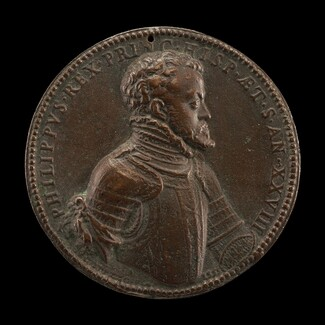 The Future Philip II of Spain as King Consort of England [obverse]
